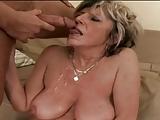 Granny Alena is very horny!
