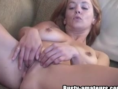 Busty chick Gabriella fingering her pussy Big Tits Videos