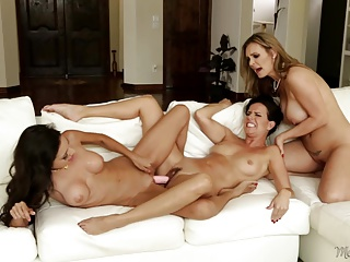 Trinity St. Clair, Kobe Lee and Tanya Tate at Mommy's Girl