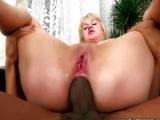 Ass full of cum
