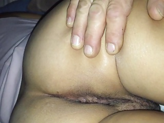 Wife's pussy and ass up close. Meaty pussy