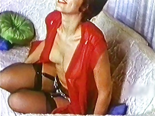 DIANA - vintage mature stockings striptease nylons