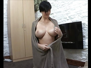 Kim reveals her boobs in all their glory