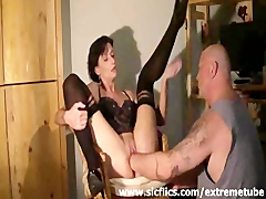 Extreme housewife brutally deep fisted in her bucket pussy Amateur Videos