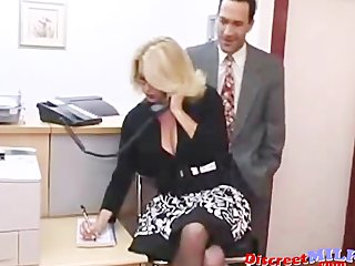 Juicy MILF Fucked Hard in the Office