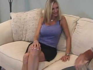 A Mature With Big Tits In First Time Porn Audition