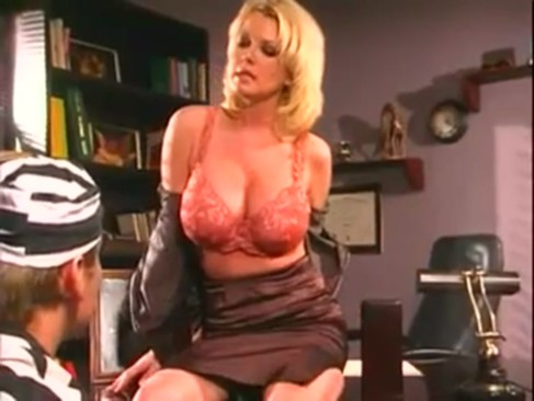 Horny bigtitted milf releasing all her desires