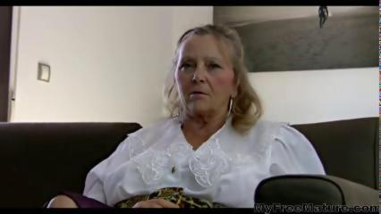 64yr Old Hairy Busty Mature Isabel Shows All Her Stuff mature mature porn granny old cumshots cumsho