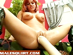 Babes fucking dildos and squirting Masturbation and Toys Videos
