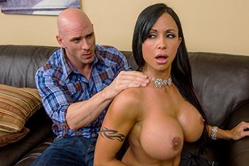 Sexy brunette boobs