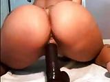 Latin Girl Fucking Dildo