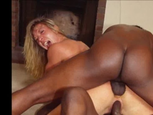 FBB Blonde Muscle Bodybuilder Fucks Some Lucky Guy at Home