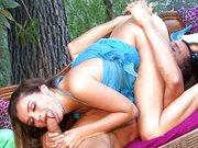 Cute brunette Allie Haze