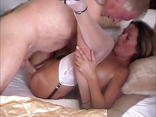 Cocksucking Milf Fiona in Nylons