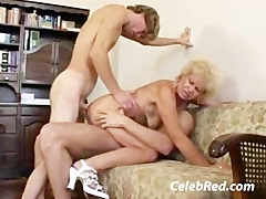 Granny Doubles Up Blonde and Granny Videos