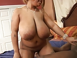 Beautiful Black N' Busty Lady Snow getting Pounded