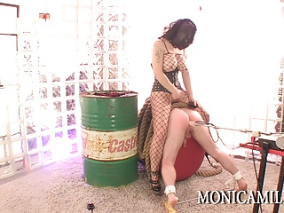 Machine pegged and fucked by Monicamilf - Dirty scandinavian
