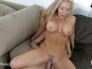 Tight milf gets fucked