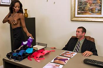 Sex with black woman secretary