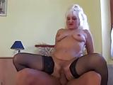 Blonde Grandma is a Whore