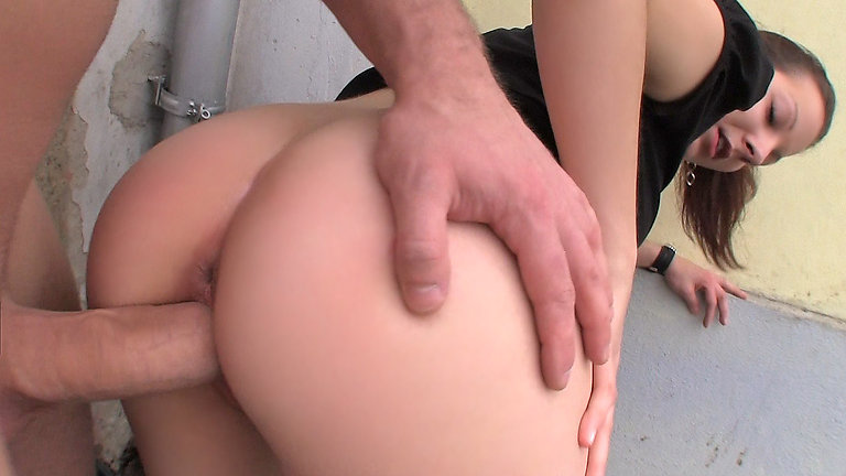 Sex with a girl in public