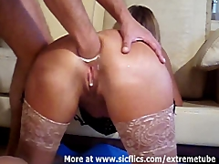 Double anal fisting the wifes slutty hole Amateur and Fisting Videos