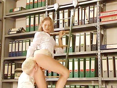 Anja Juliette Laval - Library Scene