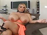 Sexy female bodybuilder