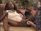 Two Sexy Ass Ebony Chicks In Threeway With White Guy