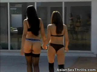 Two Asian Honeys Get It On