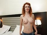 Silvia Camps - Busty Redhead Teen Girl Hard Action