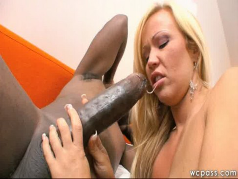 Blonde MILF Loves Big Black Cock
