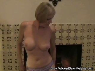 Amateur Sex With His Horny Aunt Melanie