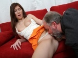 Lucky old guy fucks a very young babe
