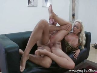 European MILF Needs Hard Cock Up Her Bunghole