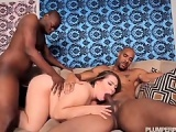 Sexy BBW Hillary Hooterz Fucked and Used By 2 Big Black Cocks BBW and Interracial Videos