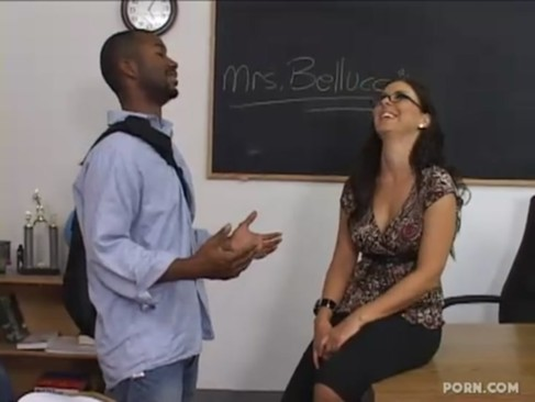 Black student fucked his hot teacher