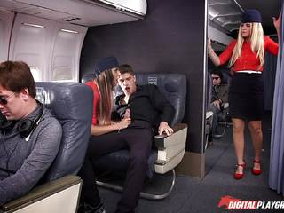 This airline has the best services that they can offer with August Ames