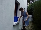 French Mature housewive fucked by gardener