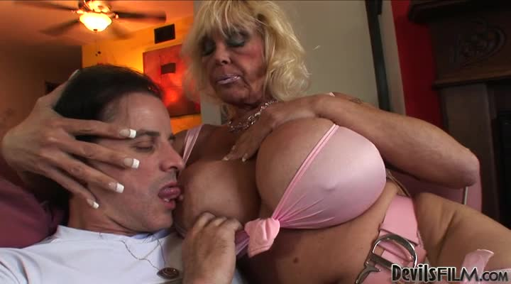 Big Tittied Granny Gets Fucked Hard In Different Poses
