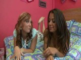 Dani and naughty friend pampering dick