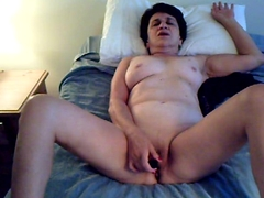 STRIPPING AND CUMMING FOR YOU Brunette and Masturbation Videos