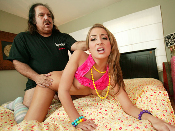 Young slut loves old dick like legend Ron Jeremy - Older Man porn