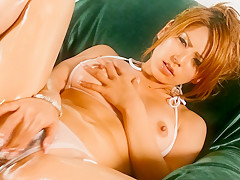 Fabulous Japanese model Sakura Kiryu in Incredible JAV uncensored MILFs video