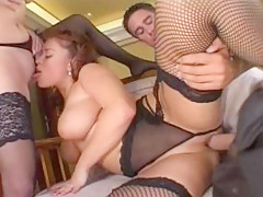 Incredible pornstar in hottest cunnilingus, brunette adult clip