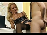 Post Man Fucks German Hot Lady In office