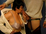 Big Ass Granny Teacher and Student - 38