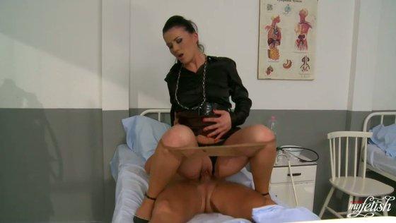 CLARISSA GETS IT ALL. Part 2 - Pantyhose porn