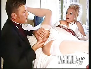 Michelle Thorne is the bride
