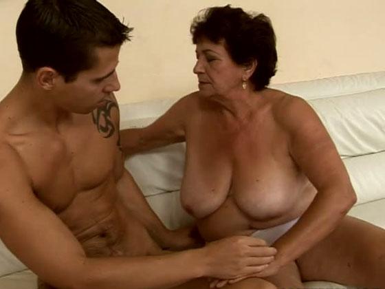 MY OLD TEACHER - Grannies porn